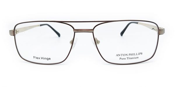 ANTON PHILLIPS - 1031 - BROWN/GOLD  4