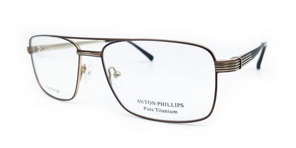 ANTON PHILLIPS - 1031 - BROWN/GOLD  3